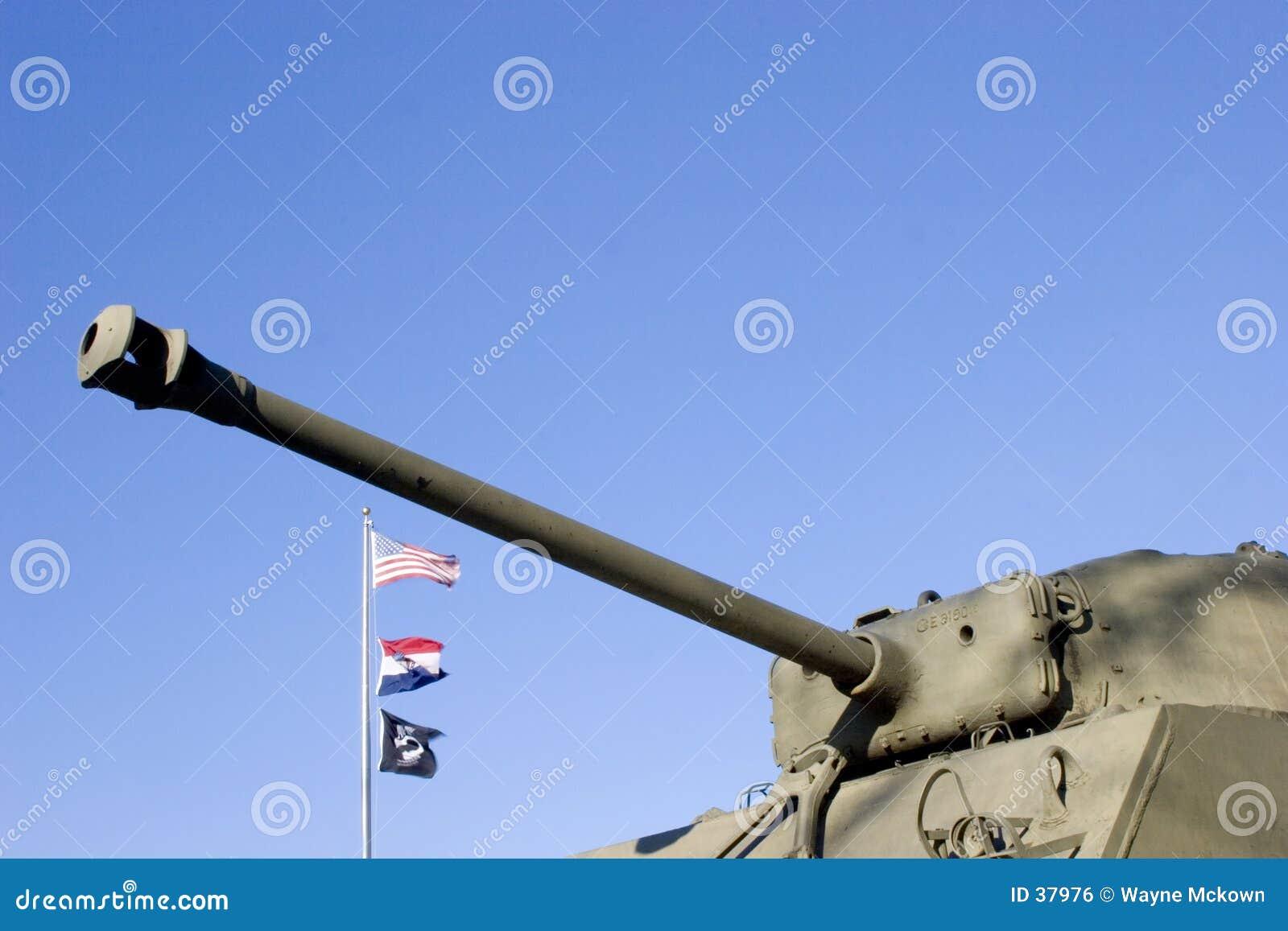 Het legertank van de V.S.