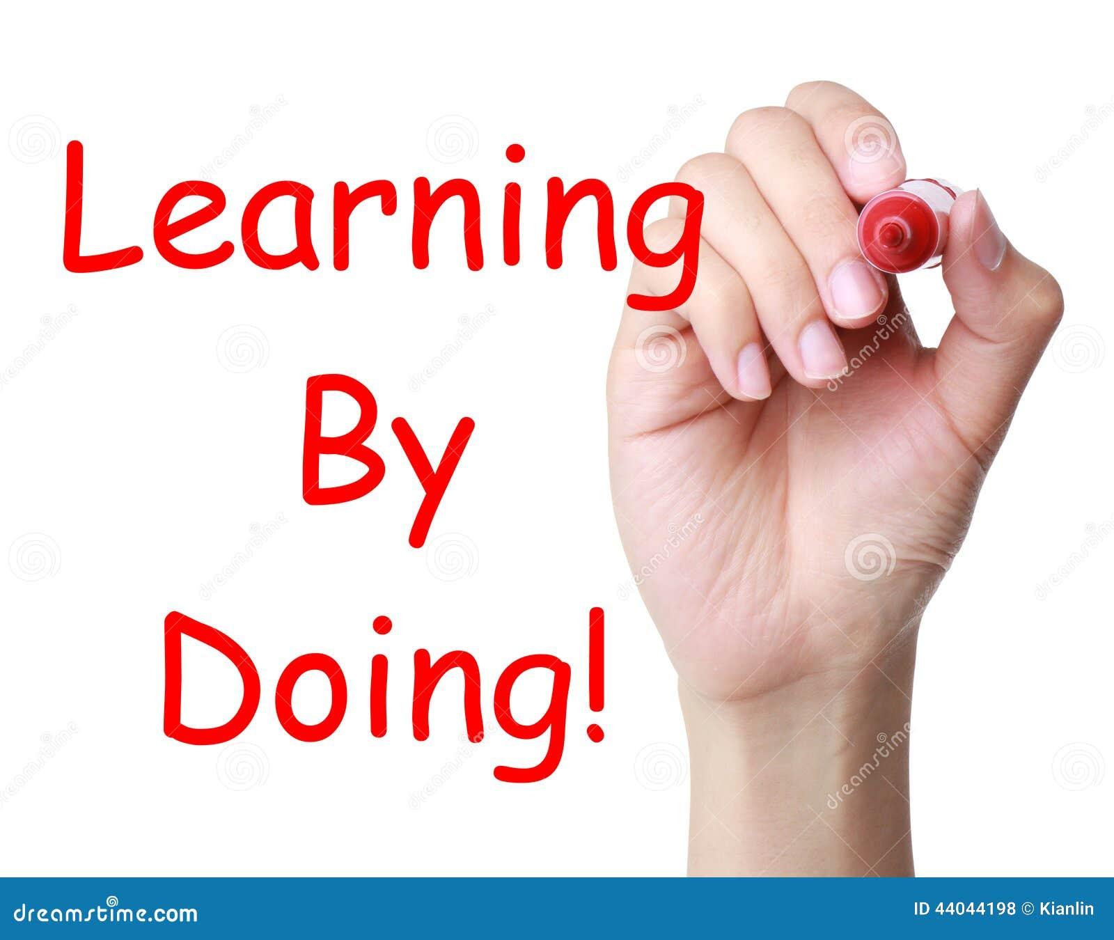 Het leren door te doen