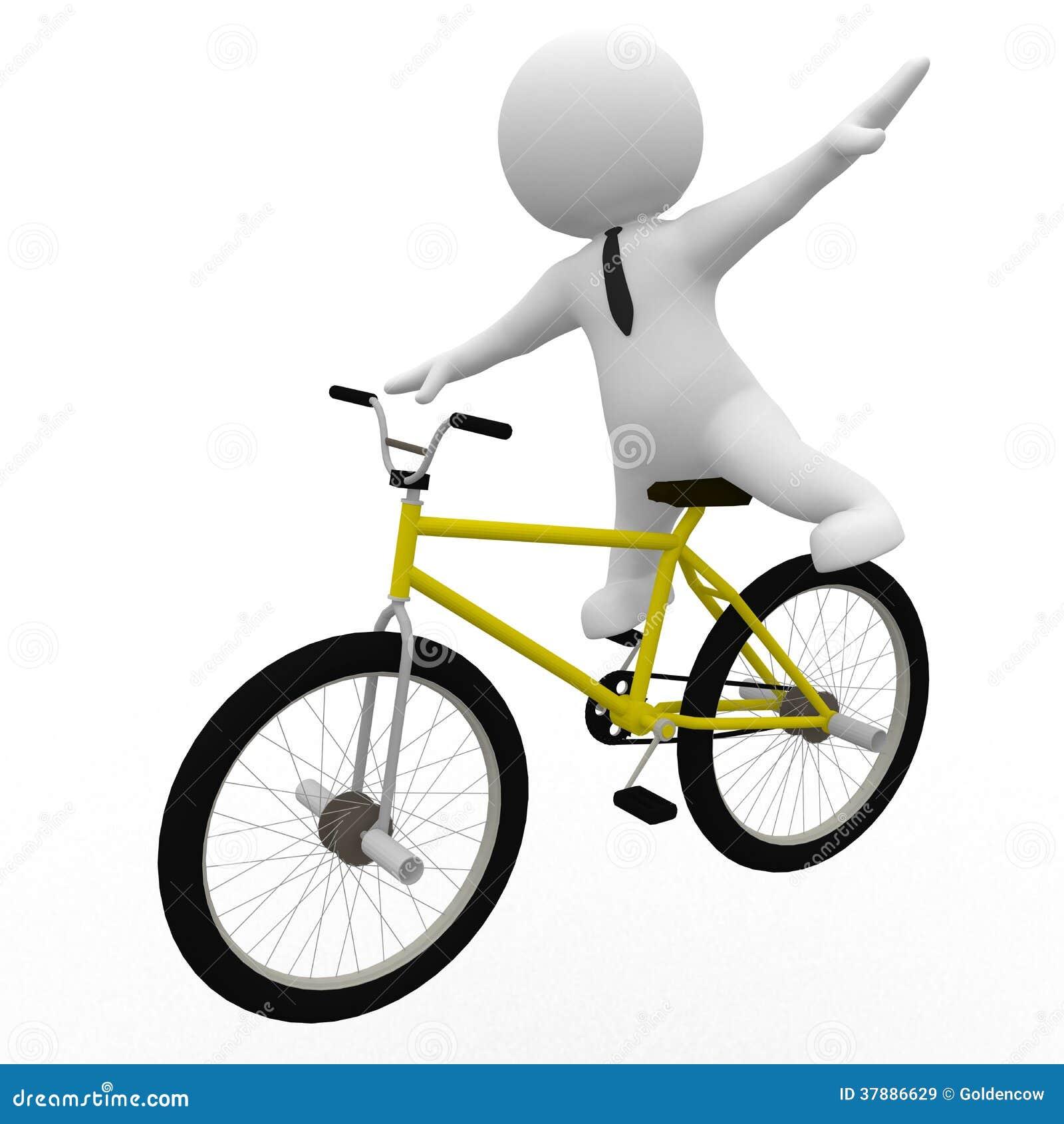 Het leren het biking