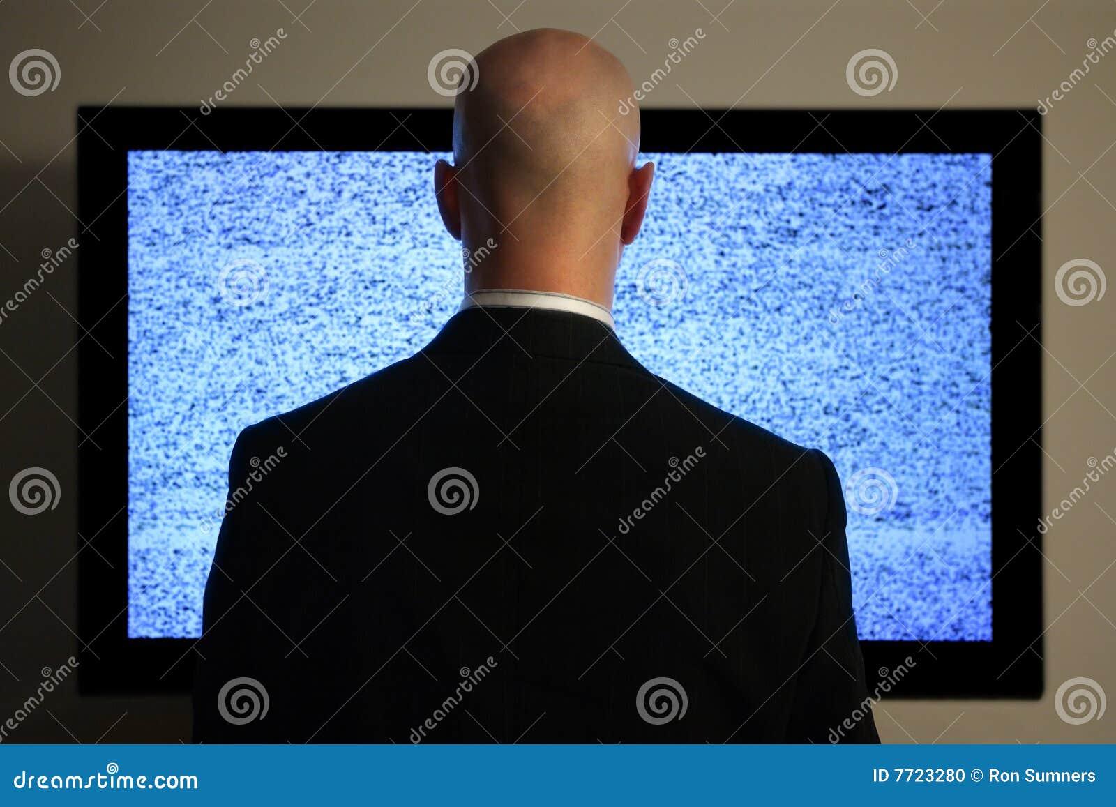 Het letten op televisie