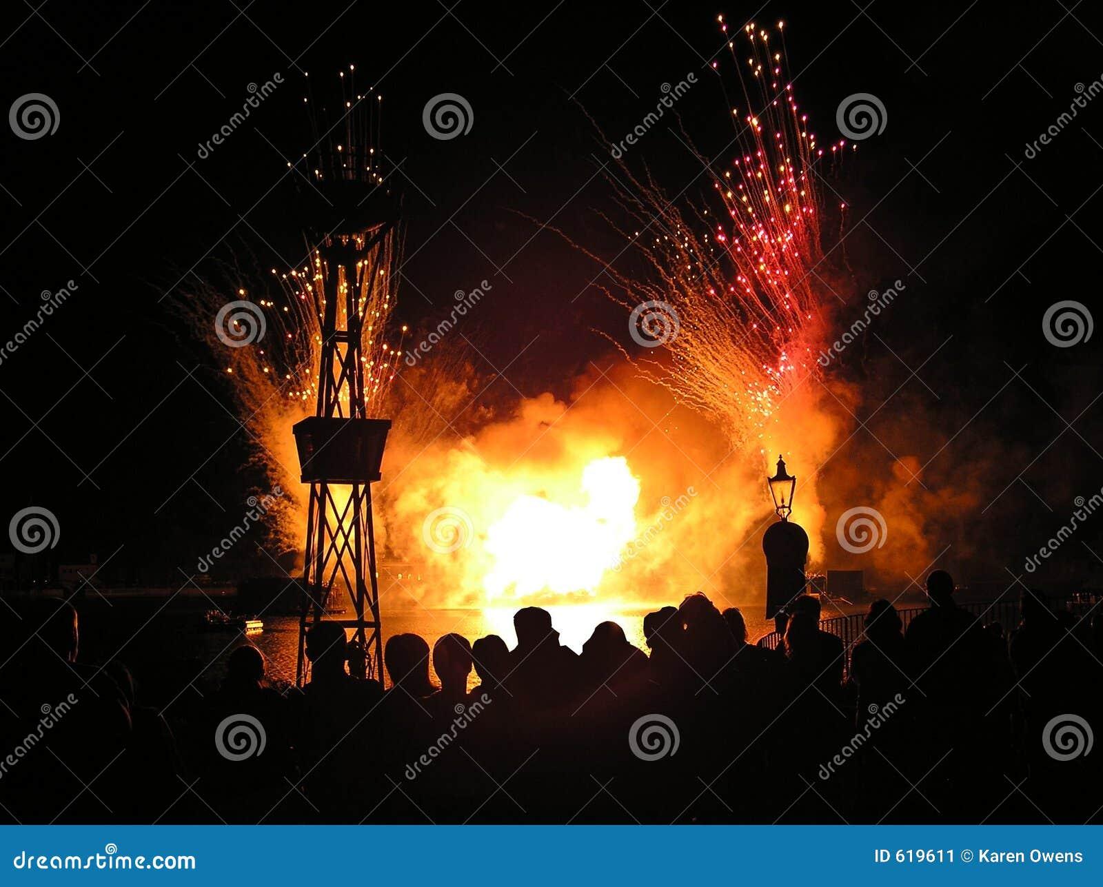 Het letten op Vuurwerk