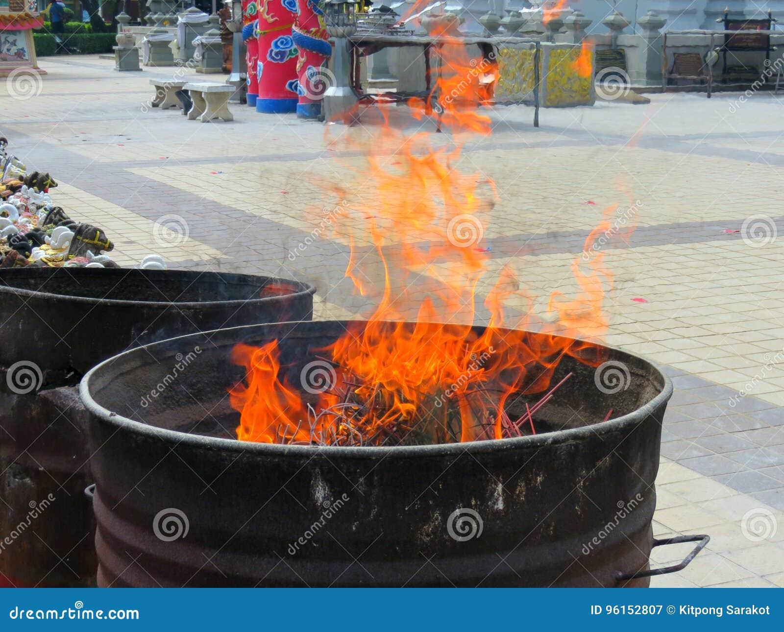 Het leven is als een vlam