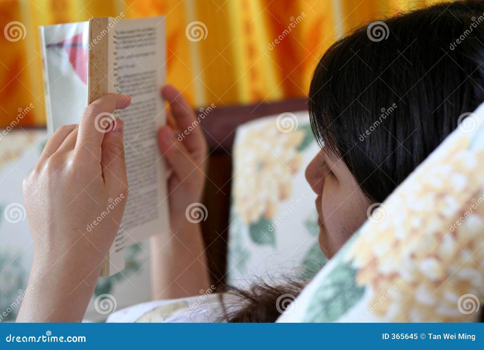 Het lezen van een Boek