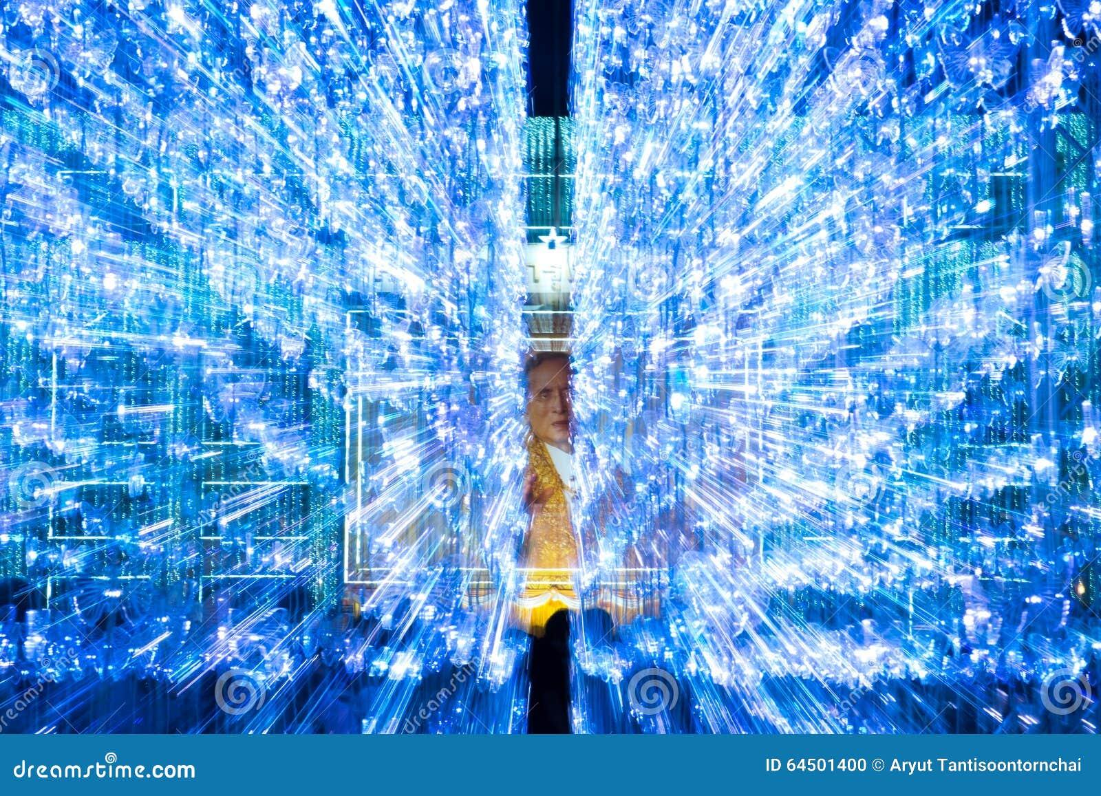 Het licht van bangkok van gelukfestival redactionele afbeelding afbeelding 64501400 - Draadloze bloei lamp ...