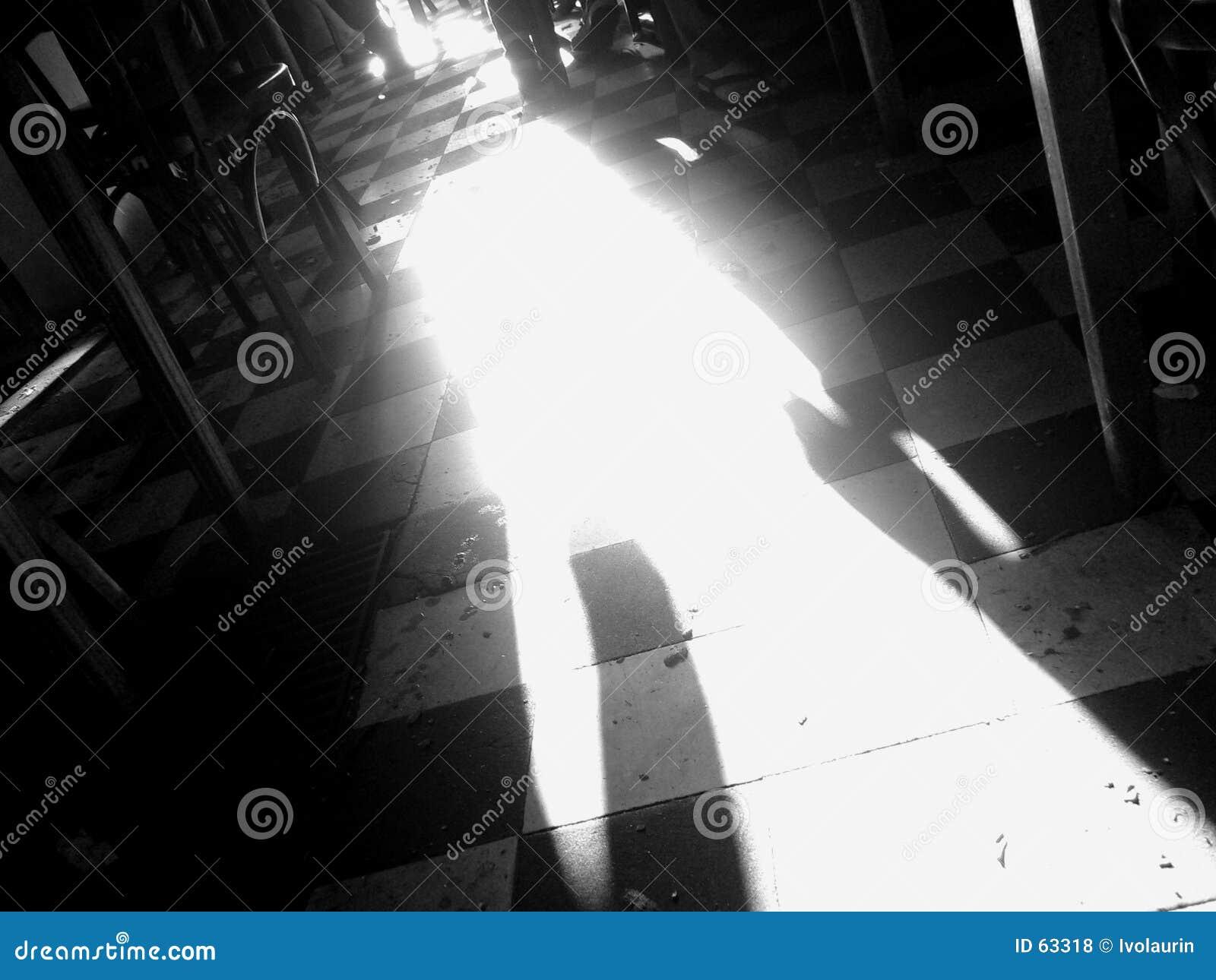Het licht van de deur
