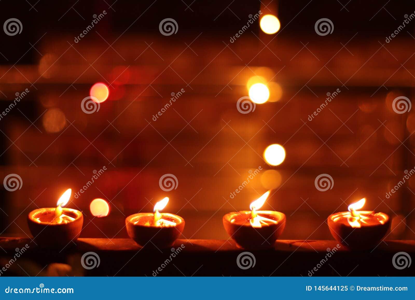 Het licht van het Helderste Festival Diwali
