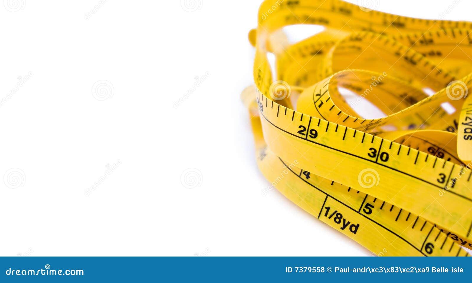 Het lint van de meter