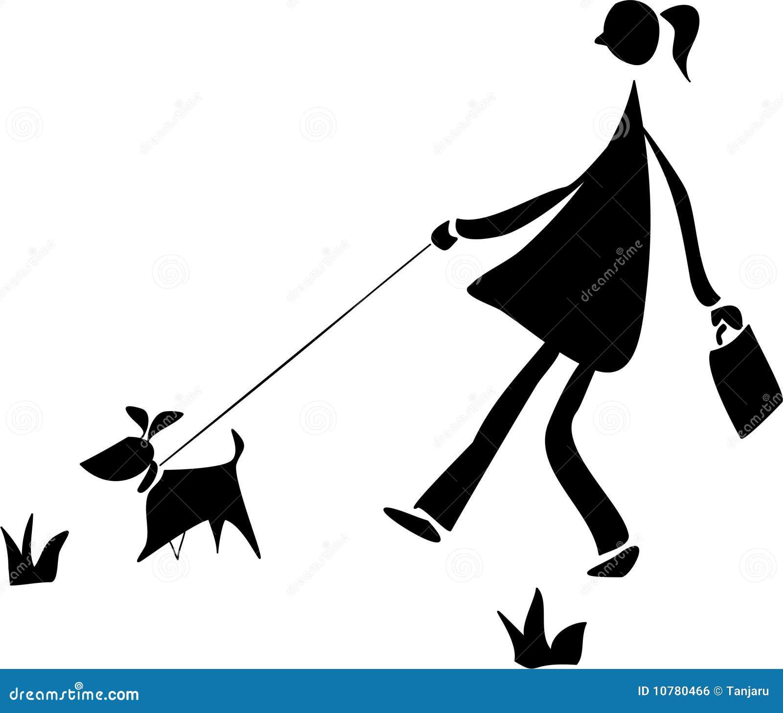 Het lopen met een hond