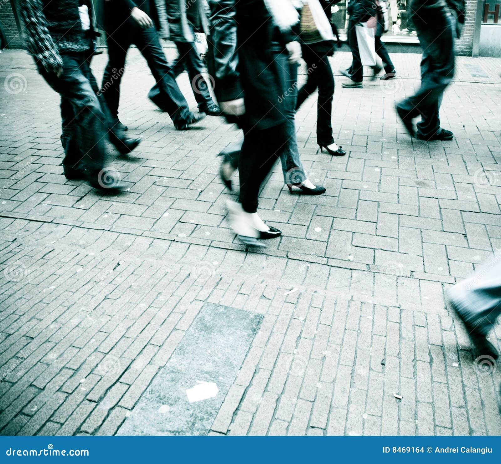Het lopen van mensen