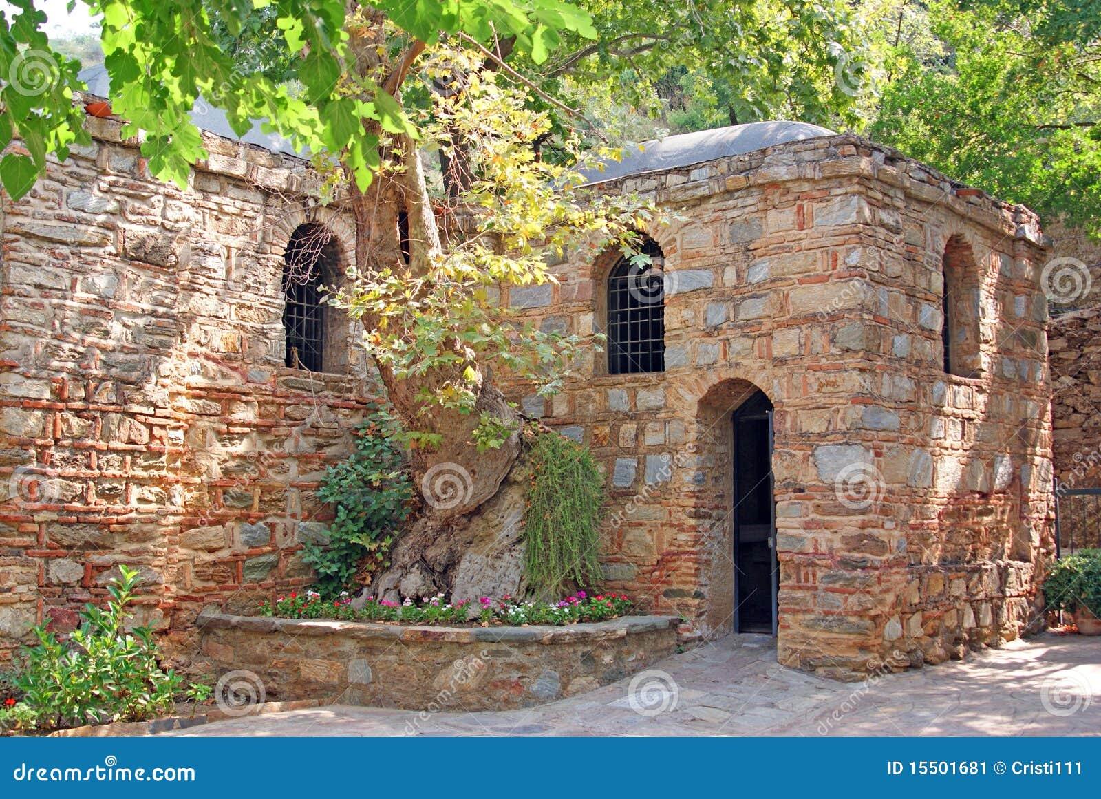 Het maagdelijke huis van Mary voor hun laatste dagen