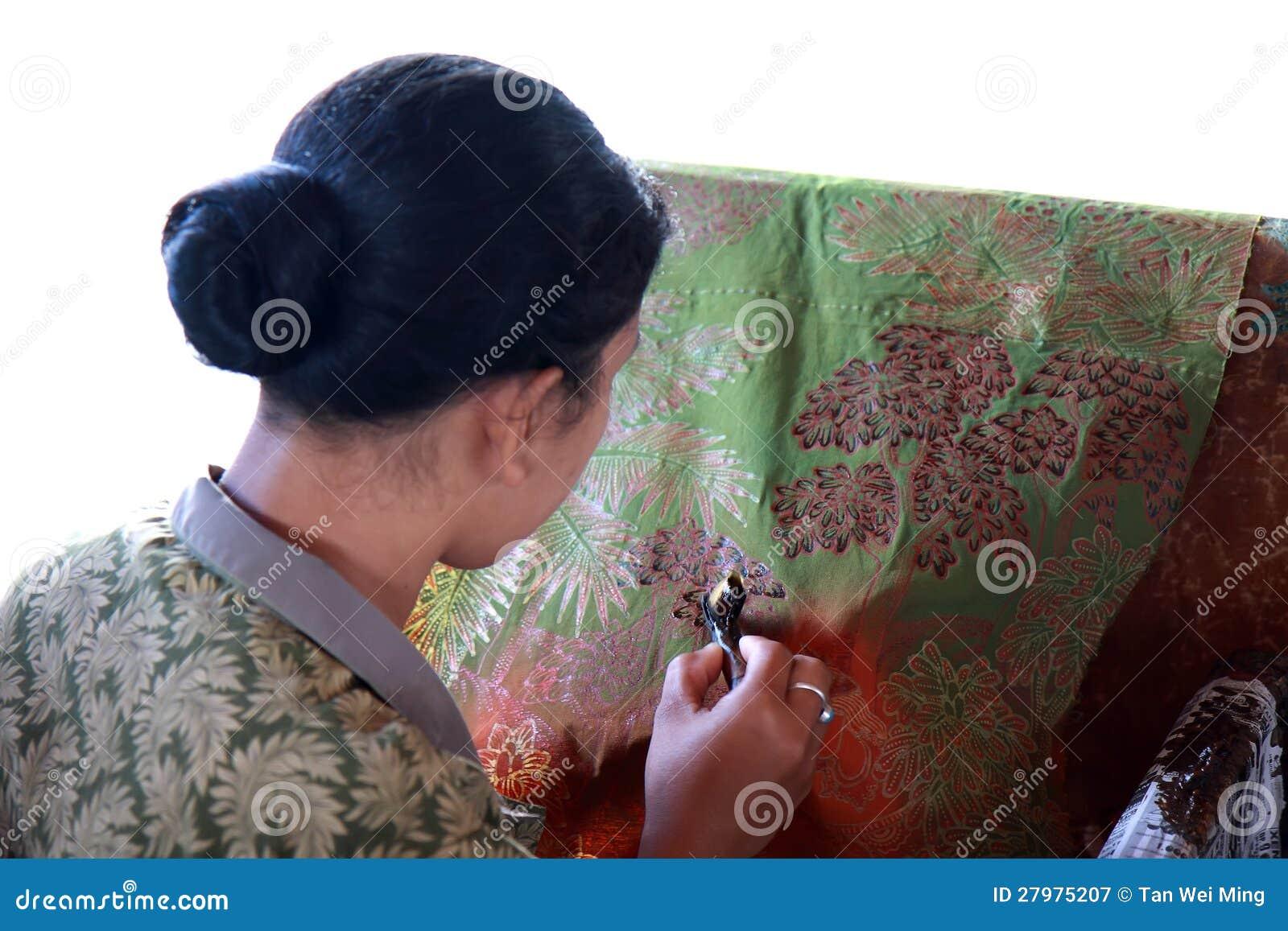 Het Maken van de batik