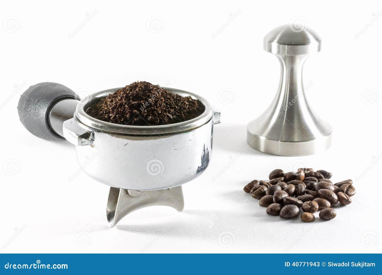 Het maken van de koffie