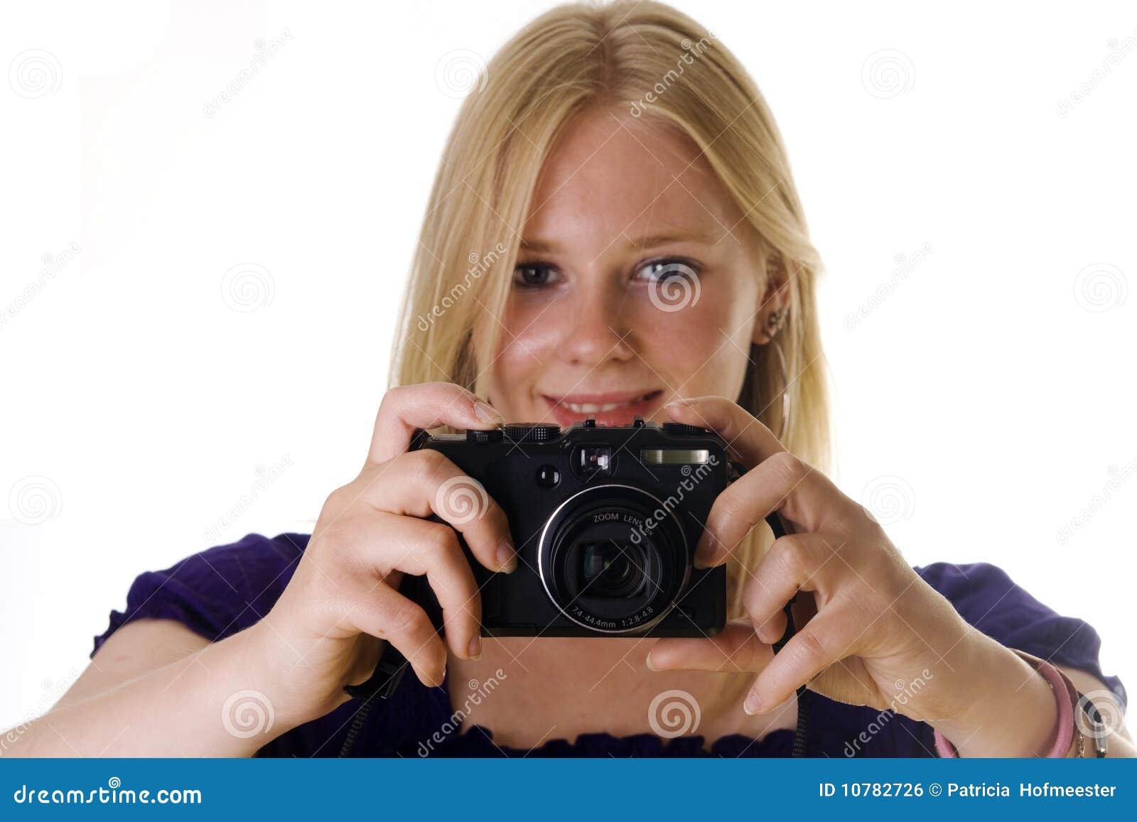 Het maken van een foto