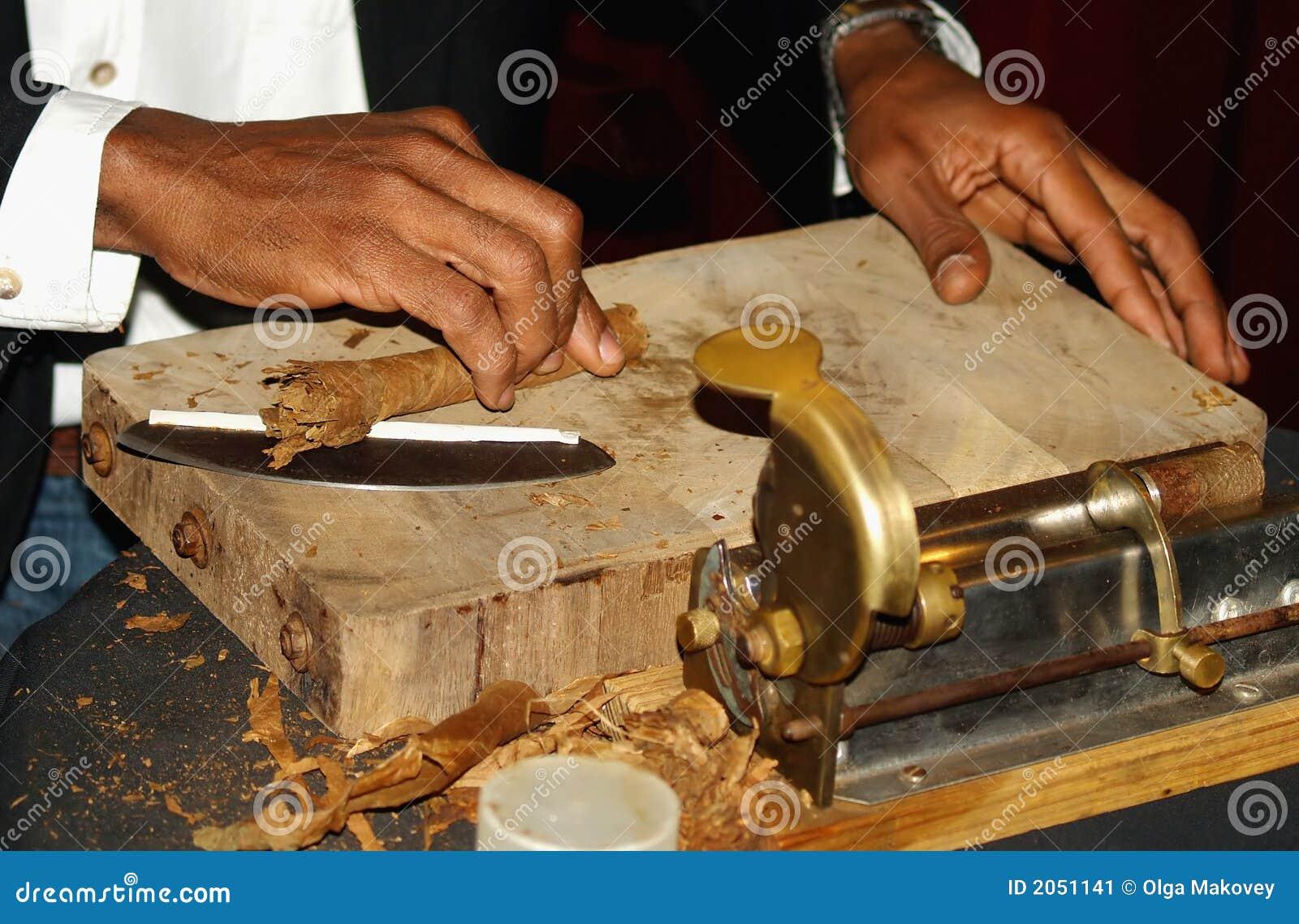Het maken van Sigaar