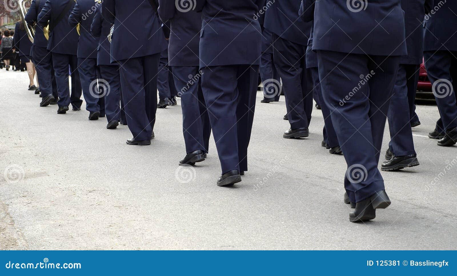 Het marcheren Band Pano