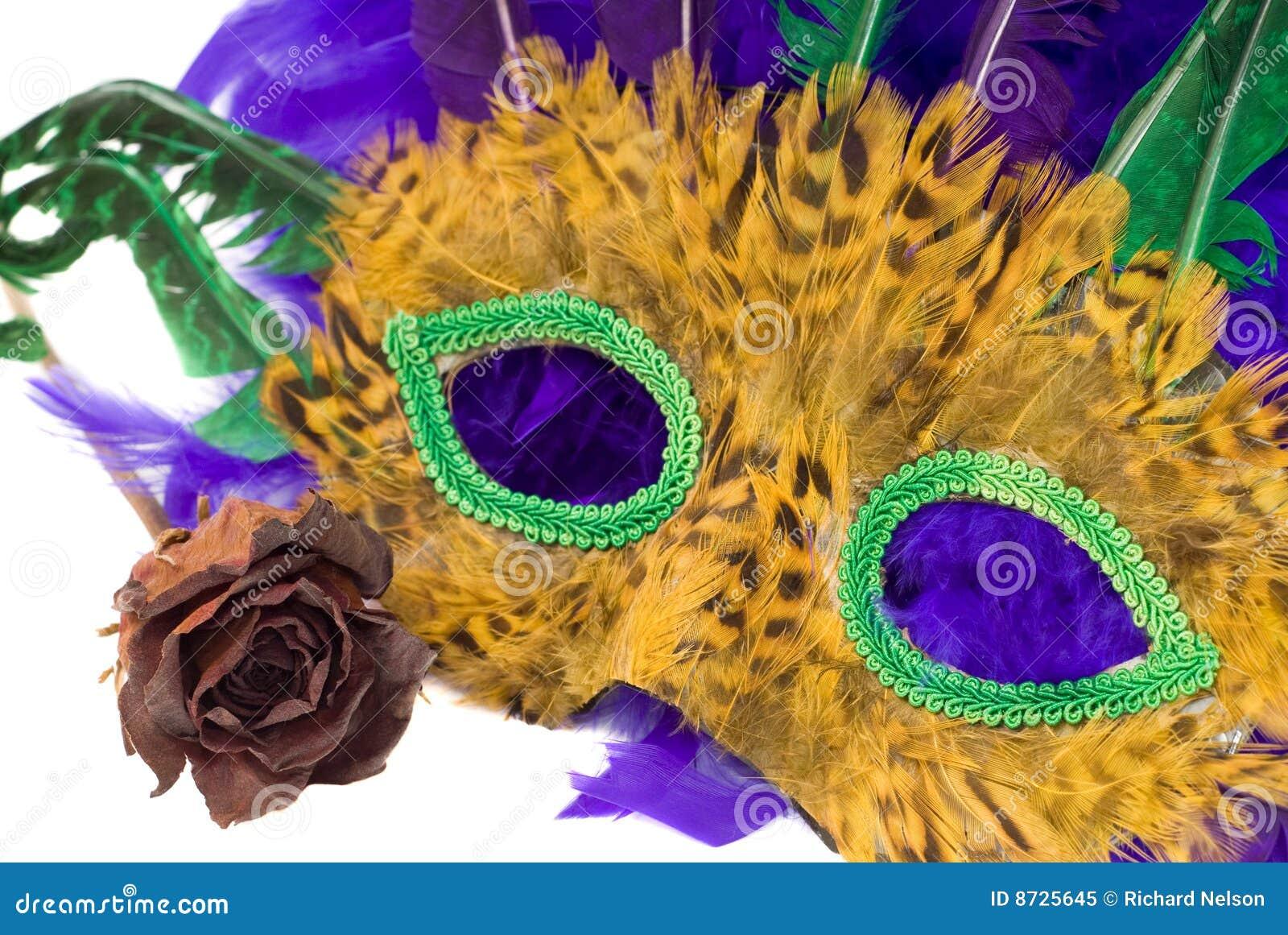 Het Masker van Gras van Mardi