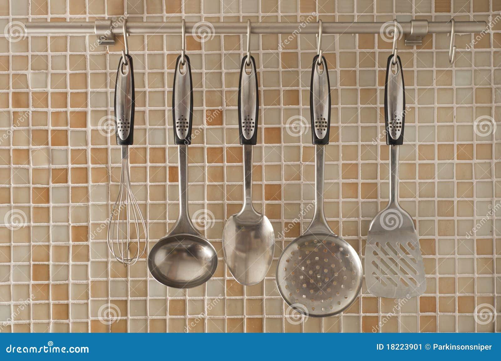 Het materiaal van de keuken stock afbeelding afbeelding 18223901 - Afbeelding van keuken amenagee ...