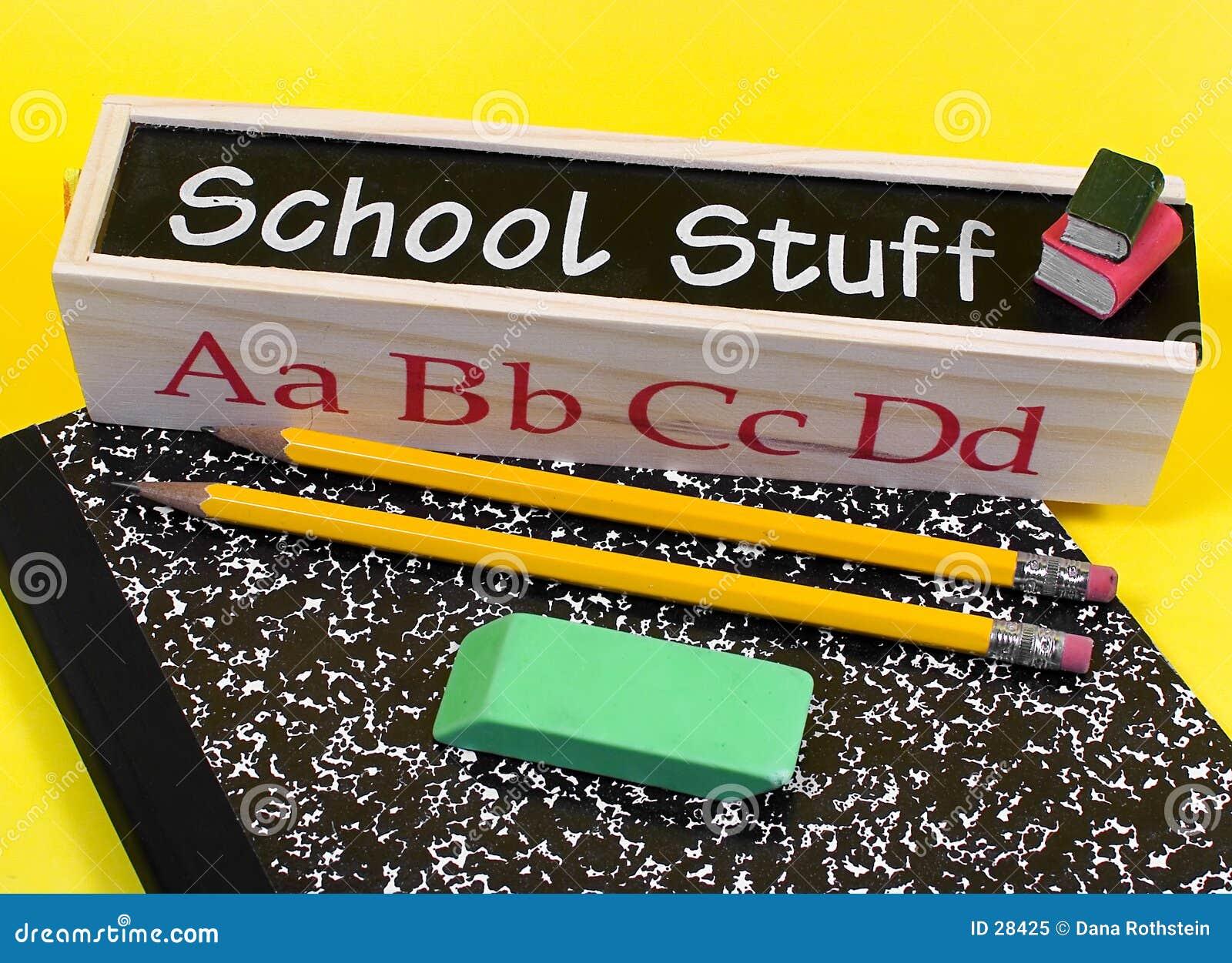 Het Materiaal van de school