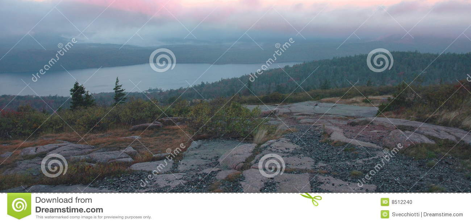 Het Meer Dawn, Acadia van de adelaar