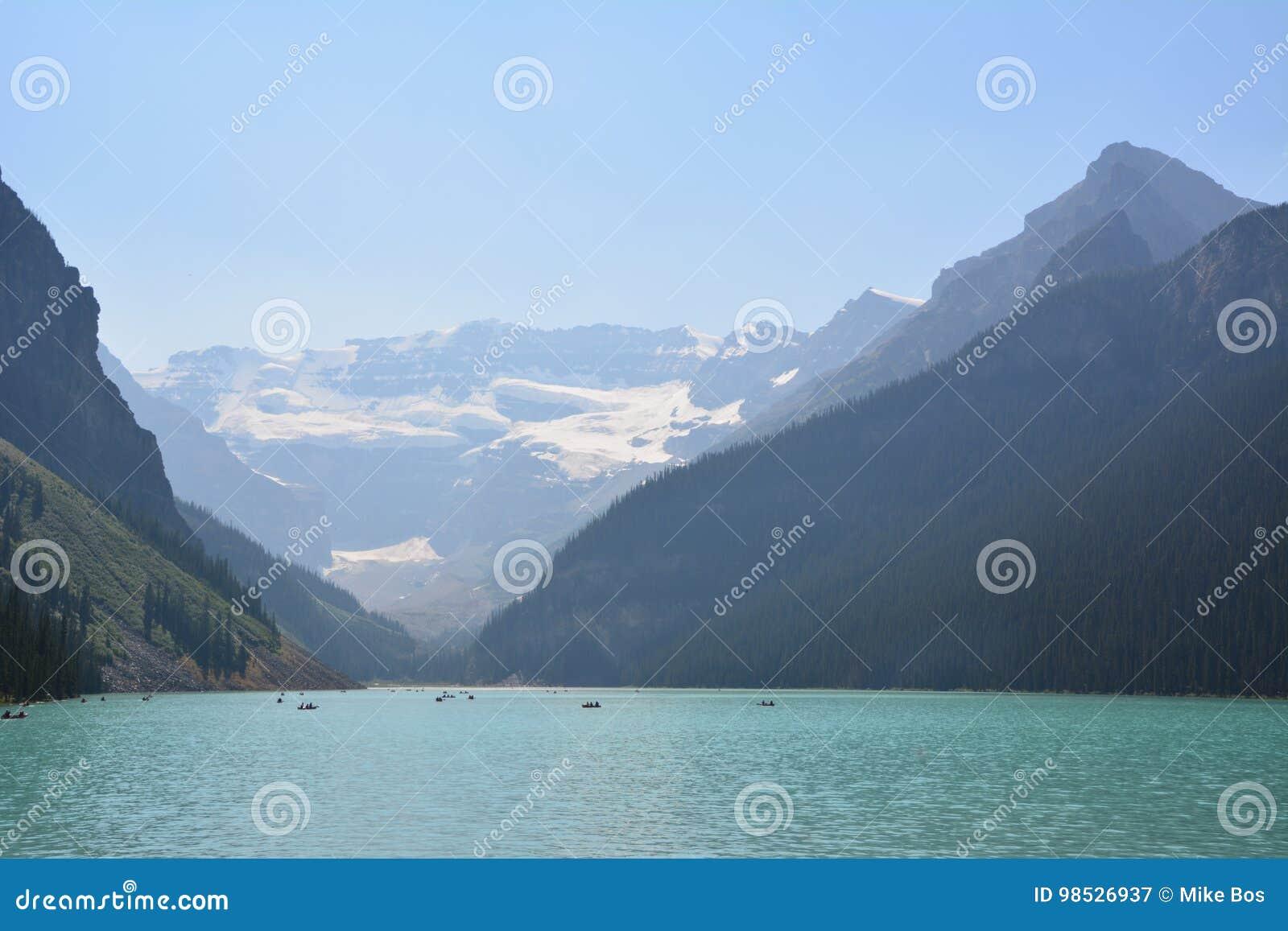 Het meer louise Canada