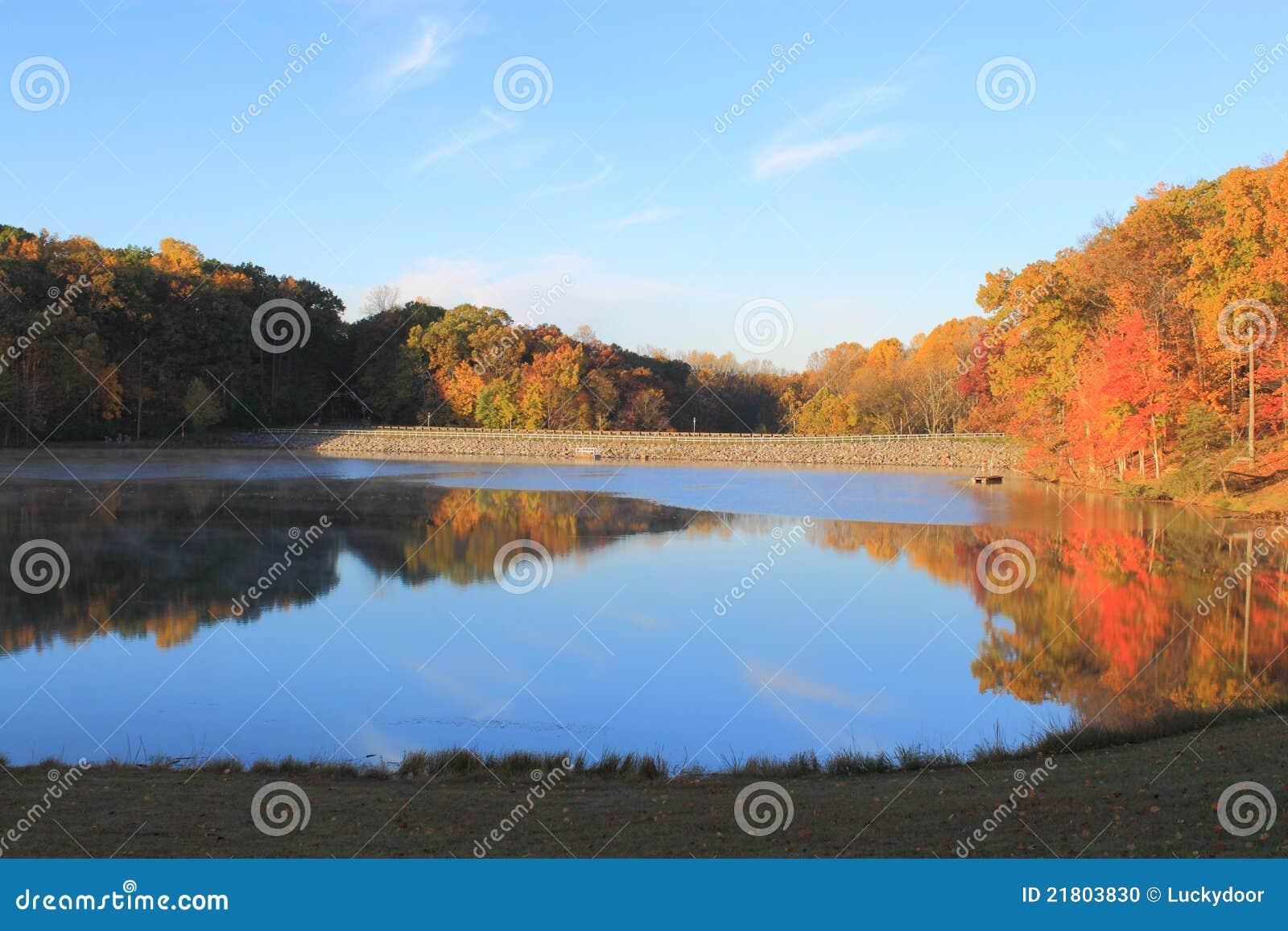 Het Meer van de herfst