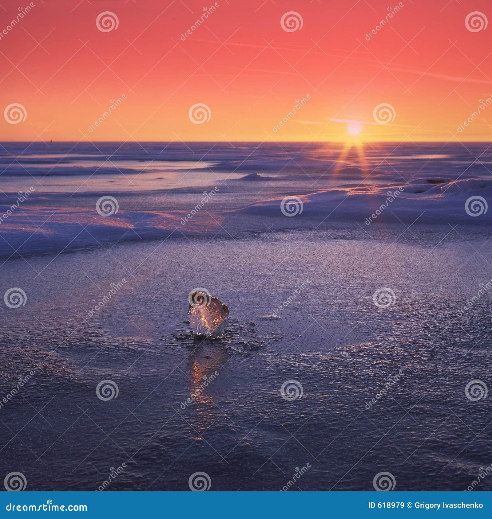 Het meer van Finskiy