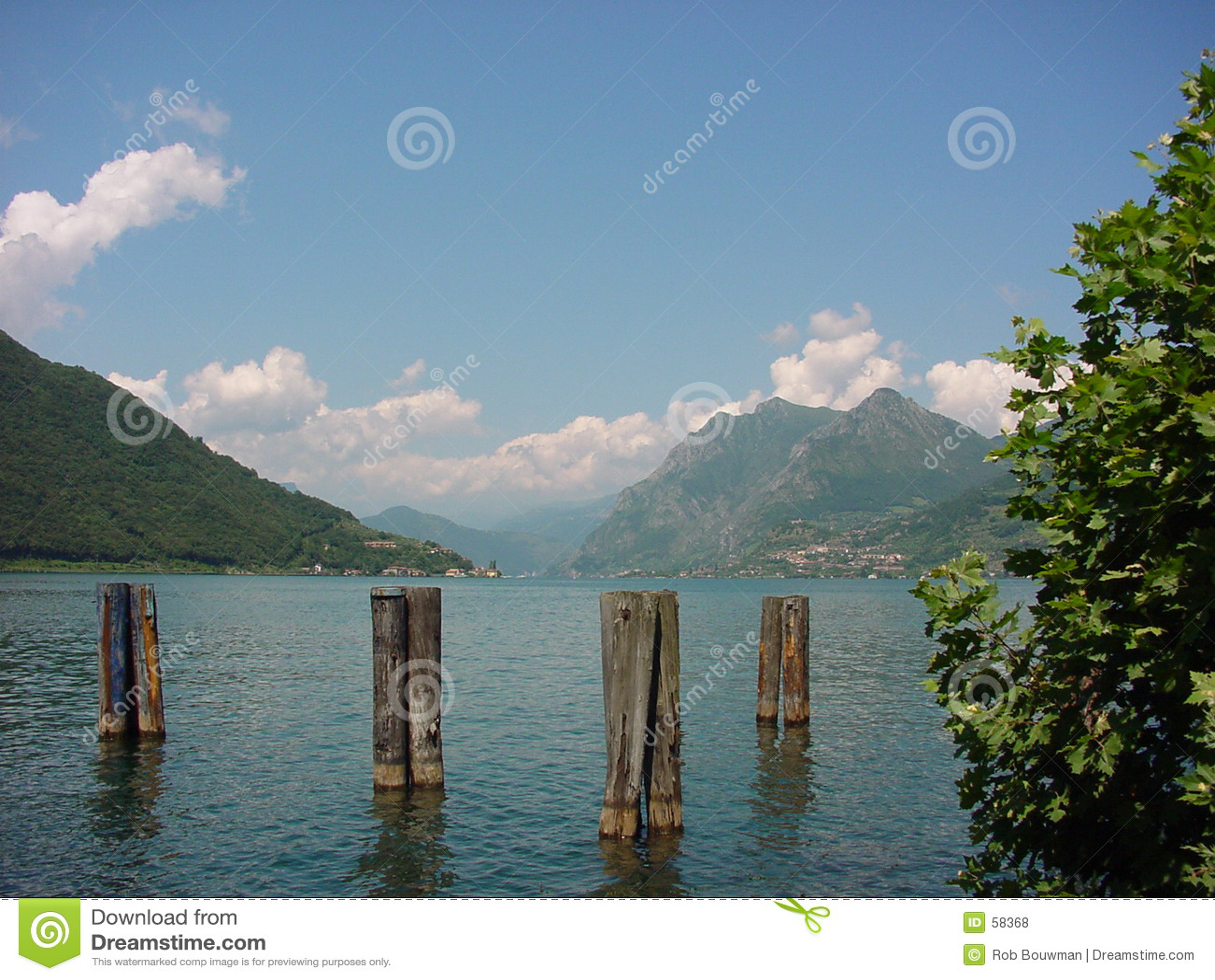 Het meer van Garda