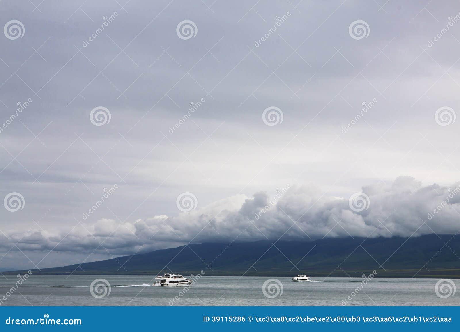 Het Meer van het Toerismeqinghai van China Qinghai