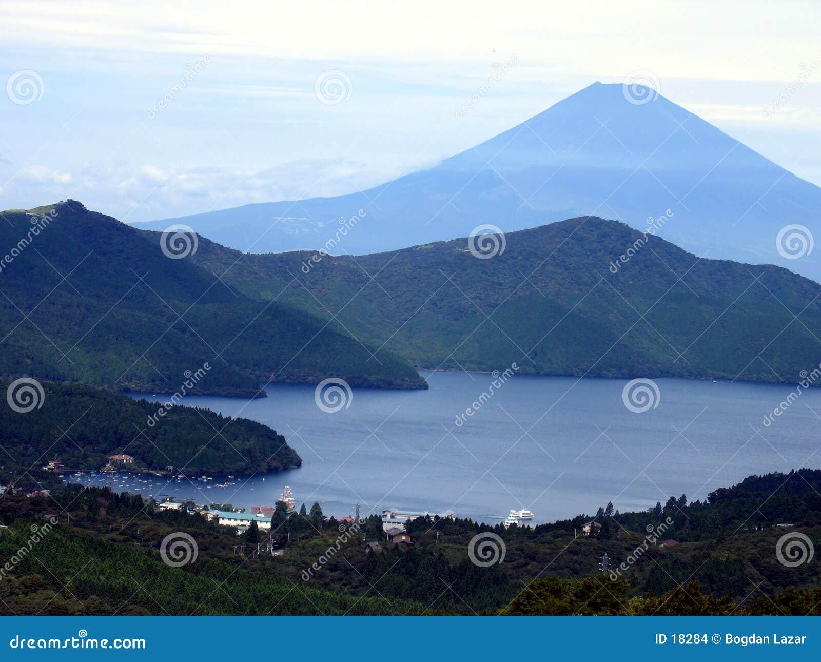 Het Meer van Kawaguchiko