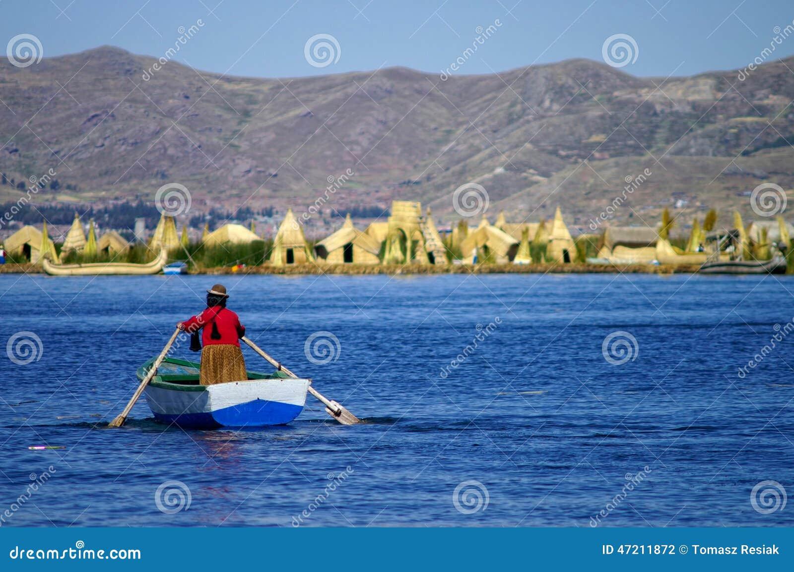 Het meer van Titicaca