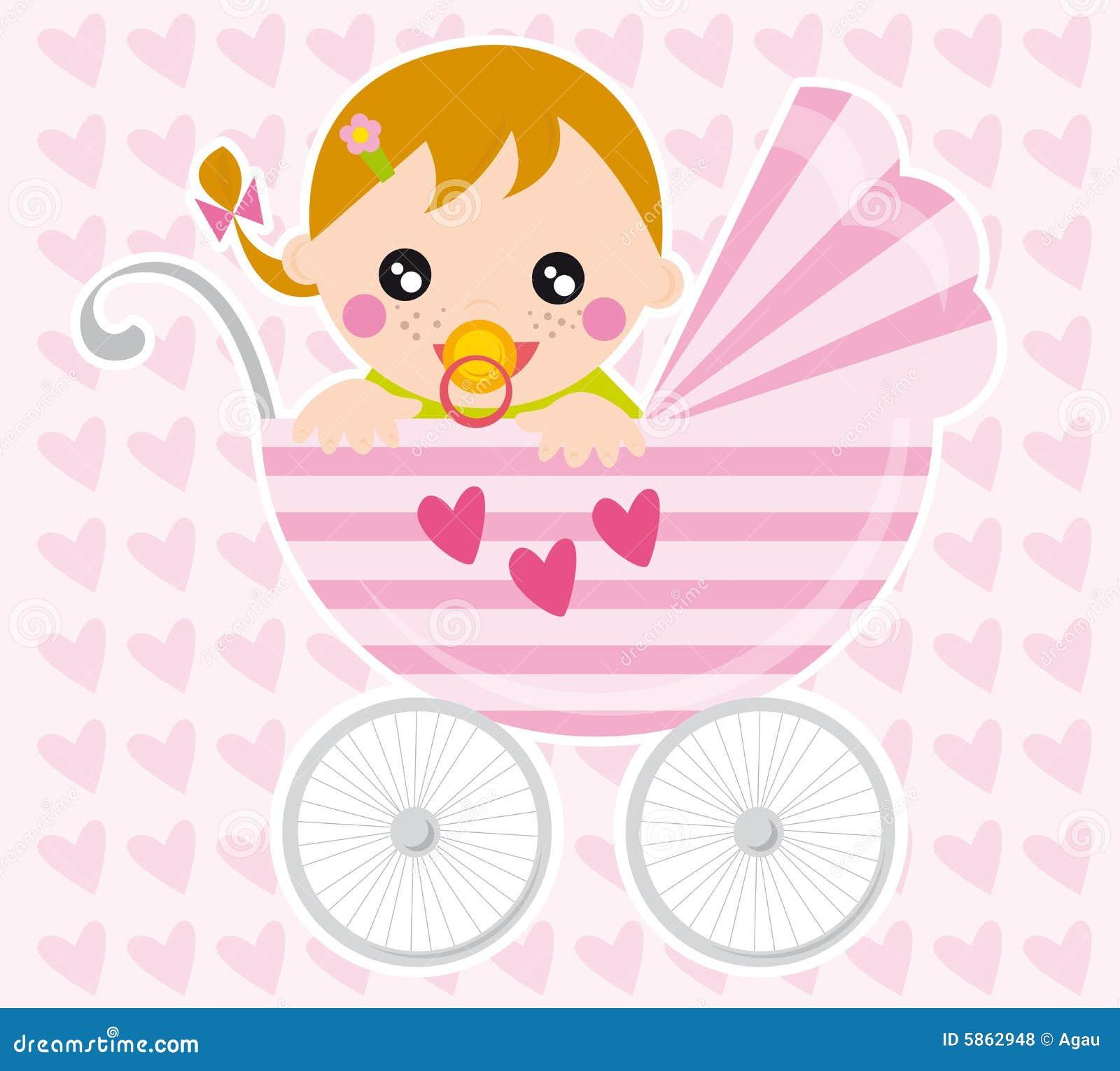 Het meisje van de baby vector illustratie afbeelding bestaande uit vreugde 5862948 - Slaapkamer fotos van het meisje ...