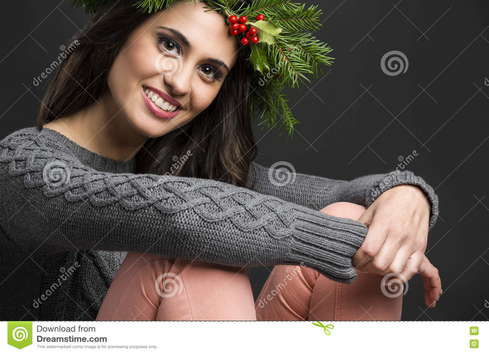 Het meisje van de Cristmasmanier