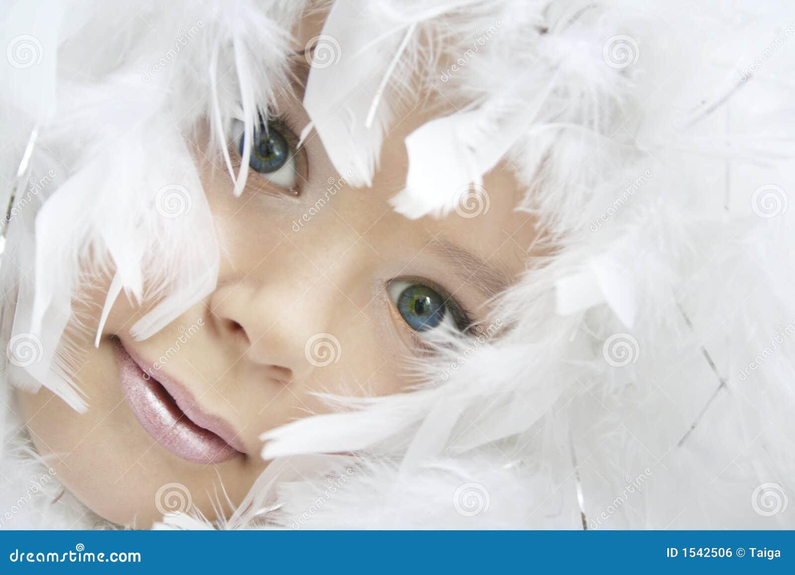Het meisje van de engel