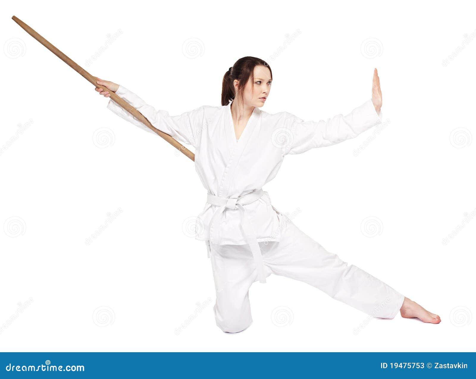 Het meisje van de karate