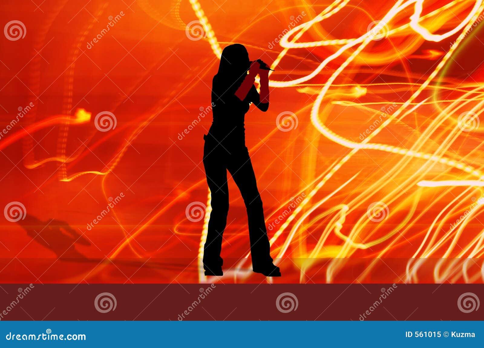 Het meisje van de zanger