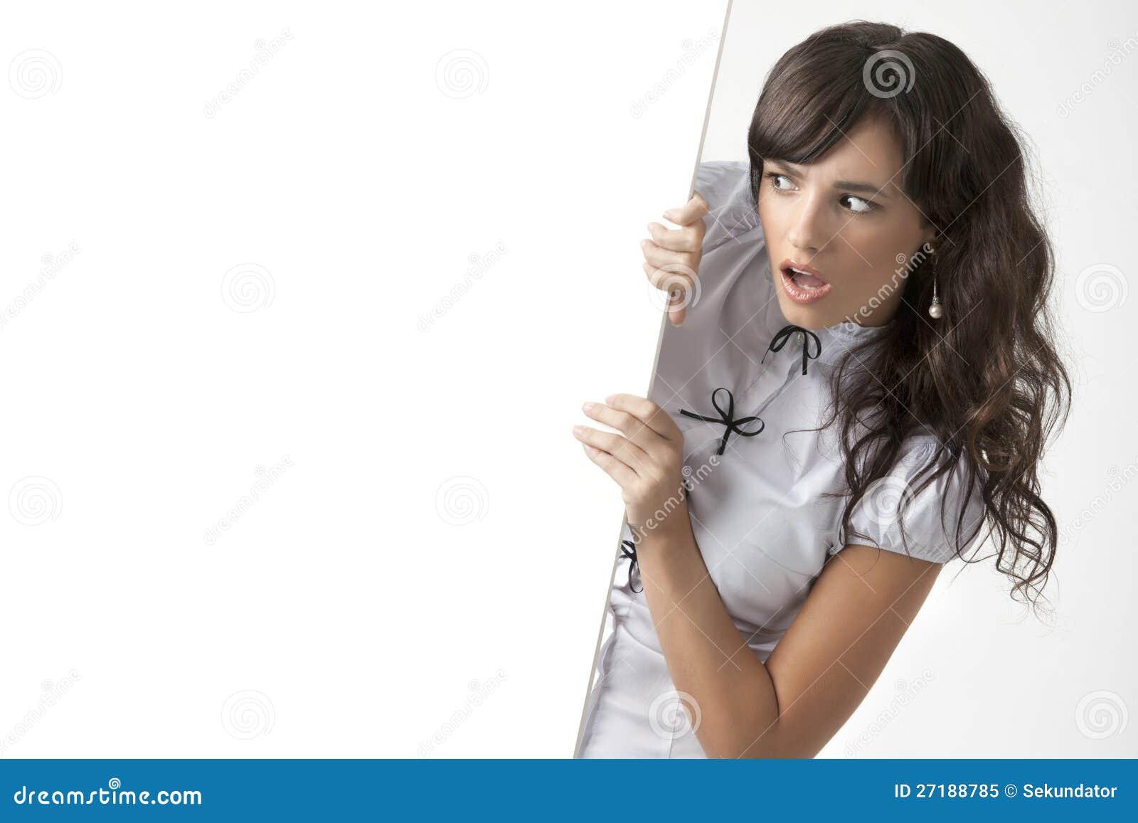 Het meisje van Nice met spatie voor tekst of beeld