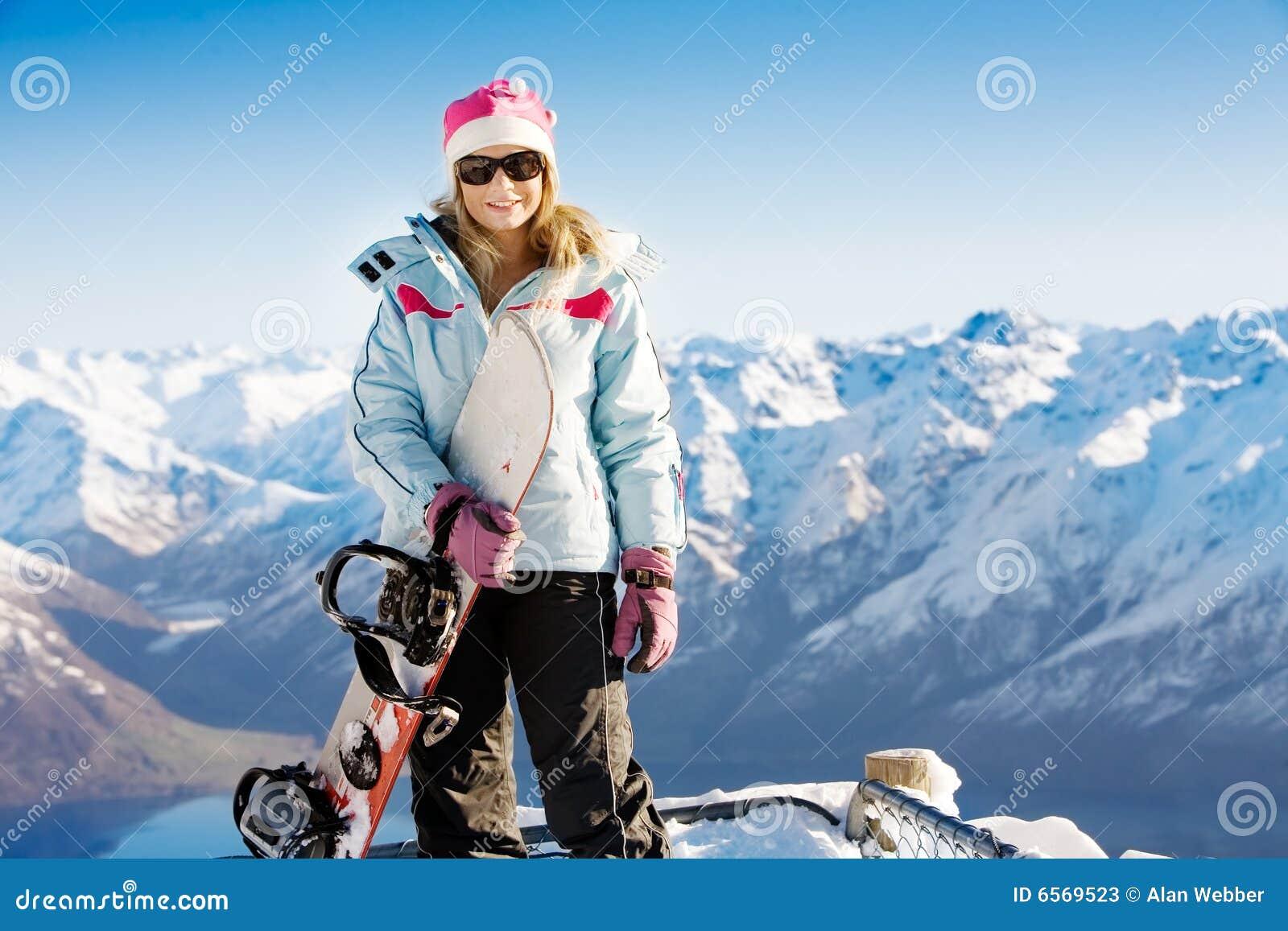 Het meisje van Snowboard