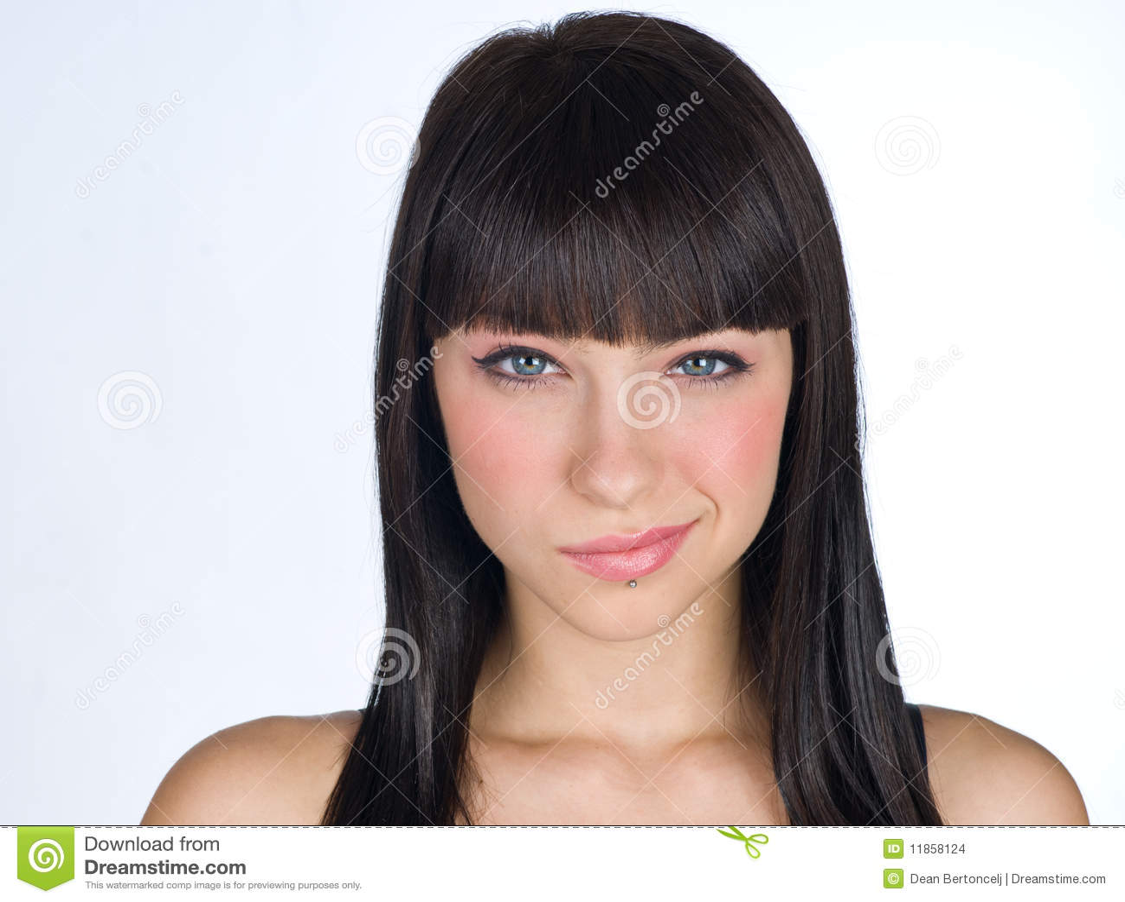 Het meisjesgezicht van de tiener stock foto afbeelding 11858124 - Tiener meisje foto ...