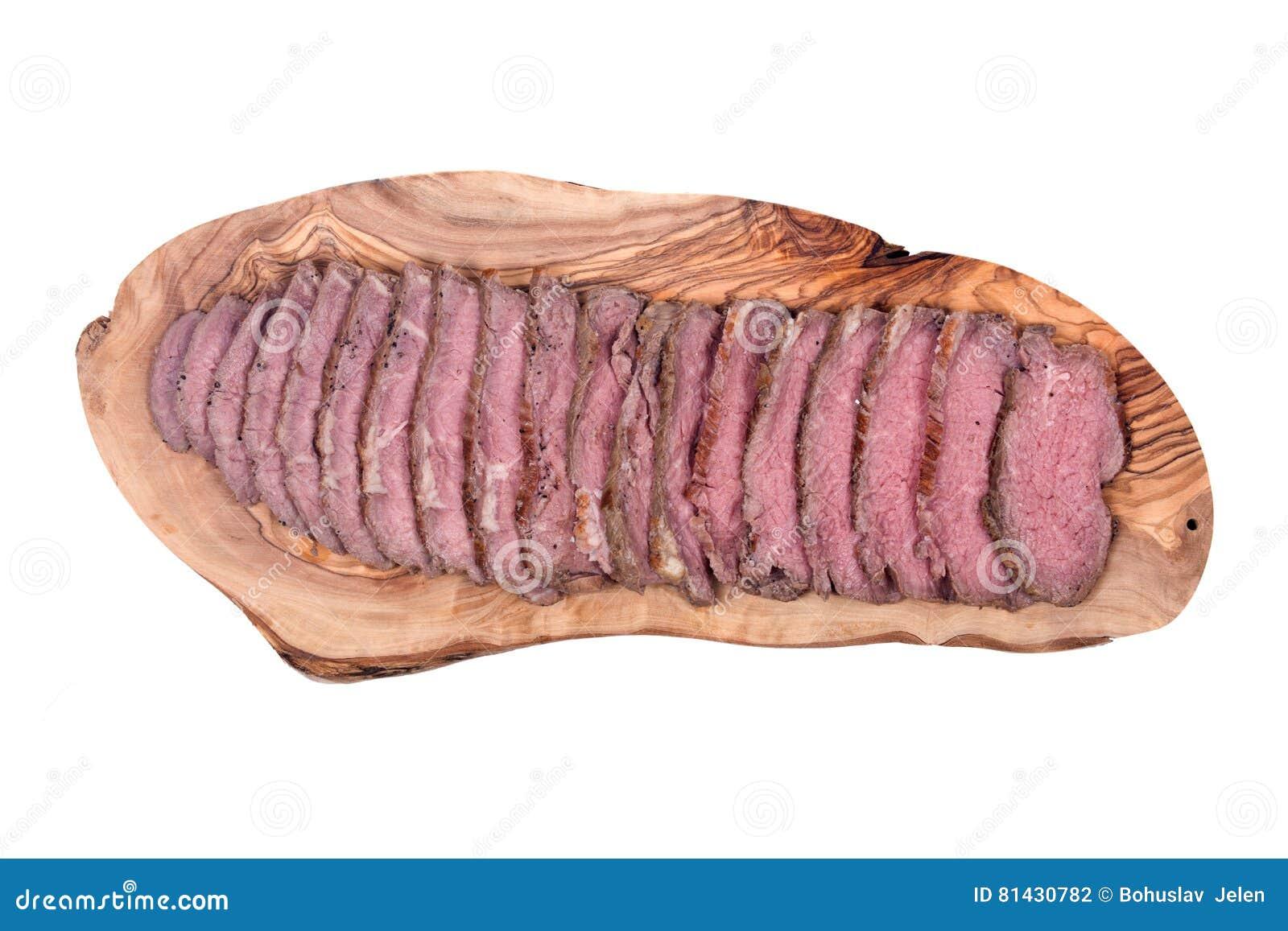 Het met gras gevoederde sappige rundvlees van het graanbraadstuk