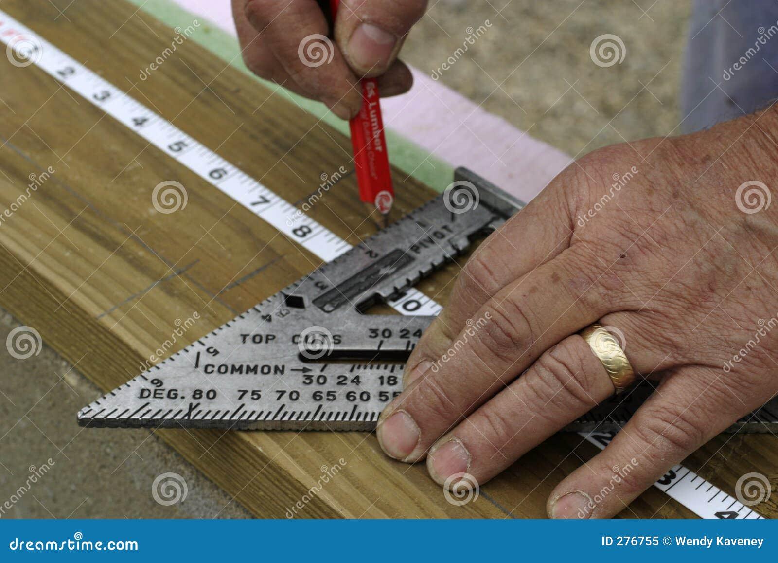 Het meten van Handen
