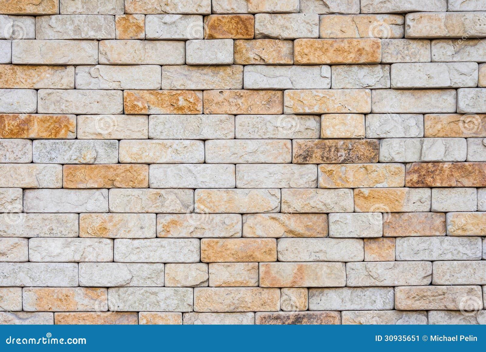 Het metselwerk van de zandkleur stock afbeelding for Zandkleur muur