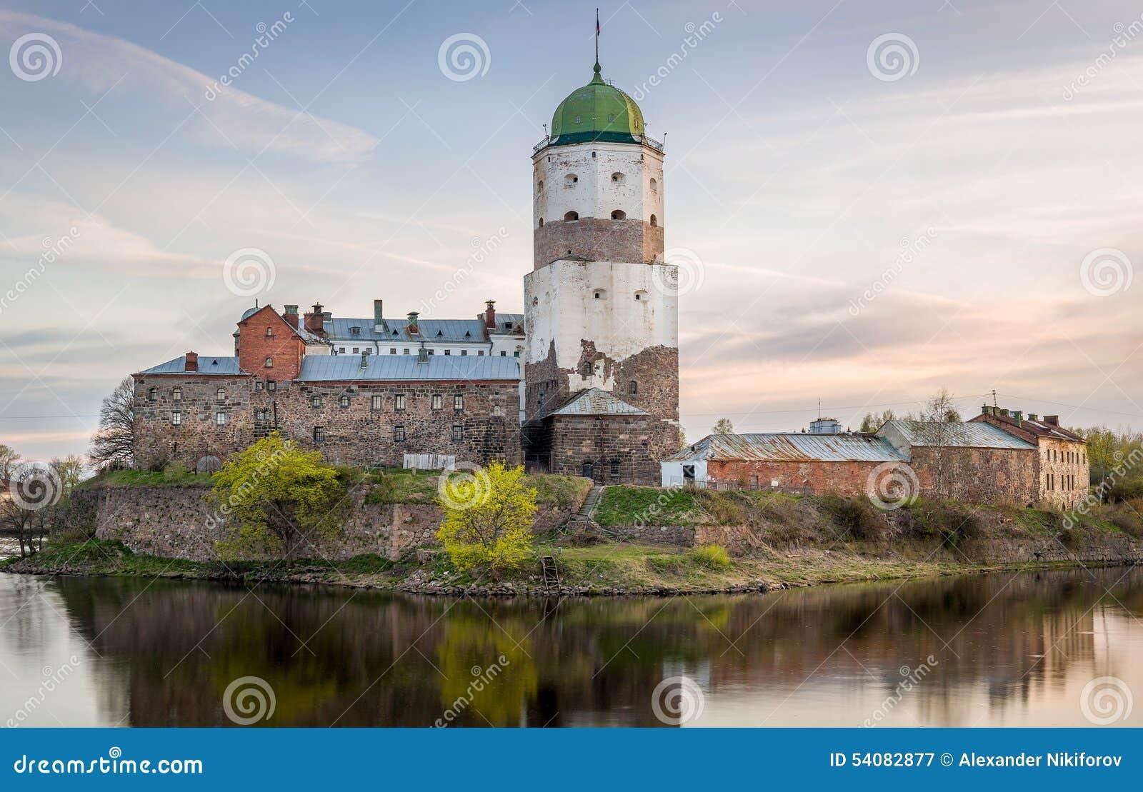 Het Middeleeuwse kasteel van Viborg