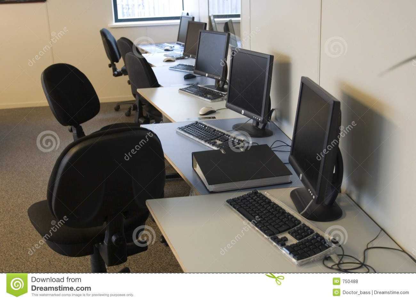 Het milieu van het bureau