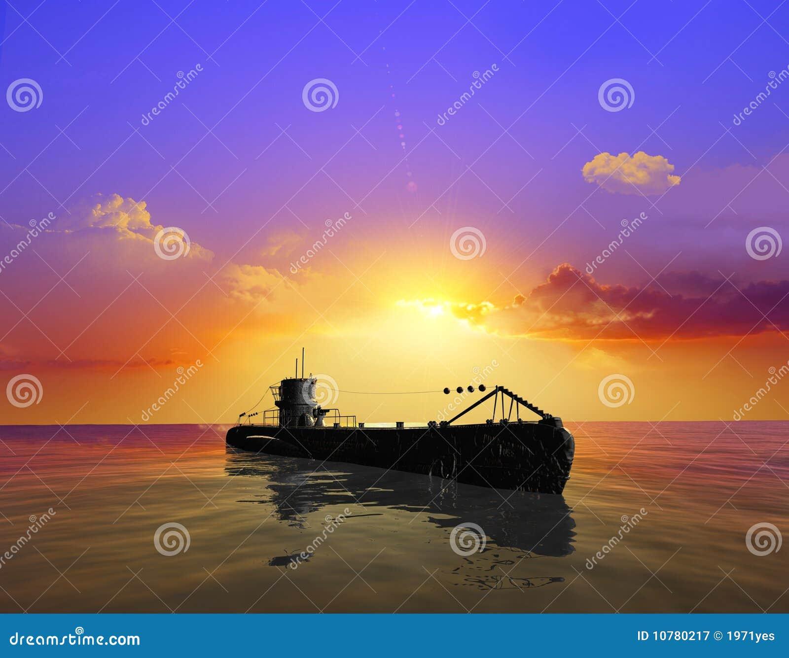Het militaire schip