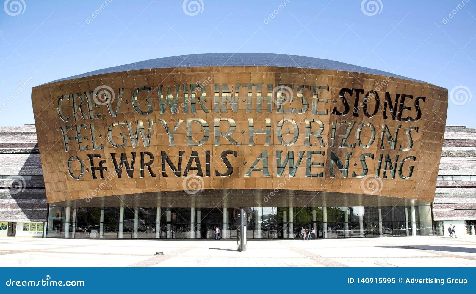Het Millenniumcentrum van Cardiff