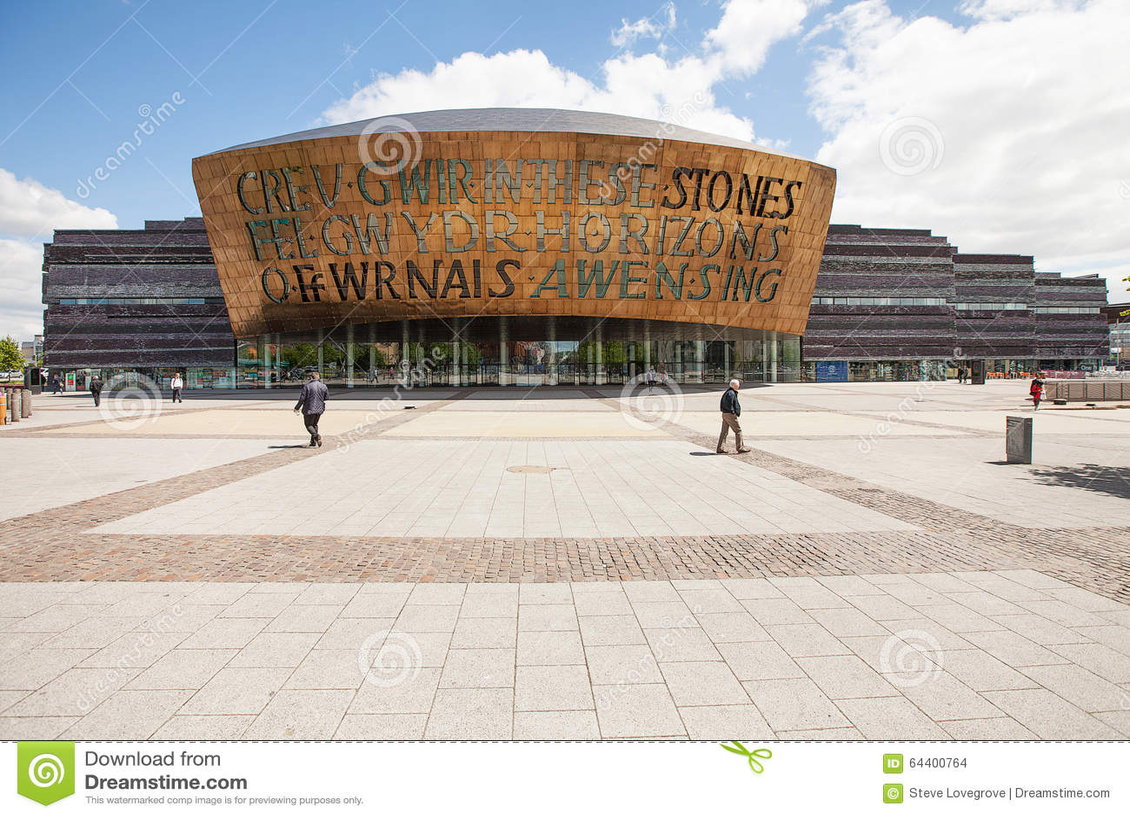 Het Millenniumcentrum van Wales