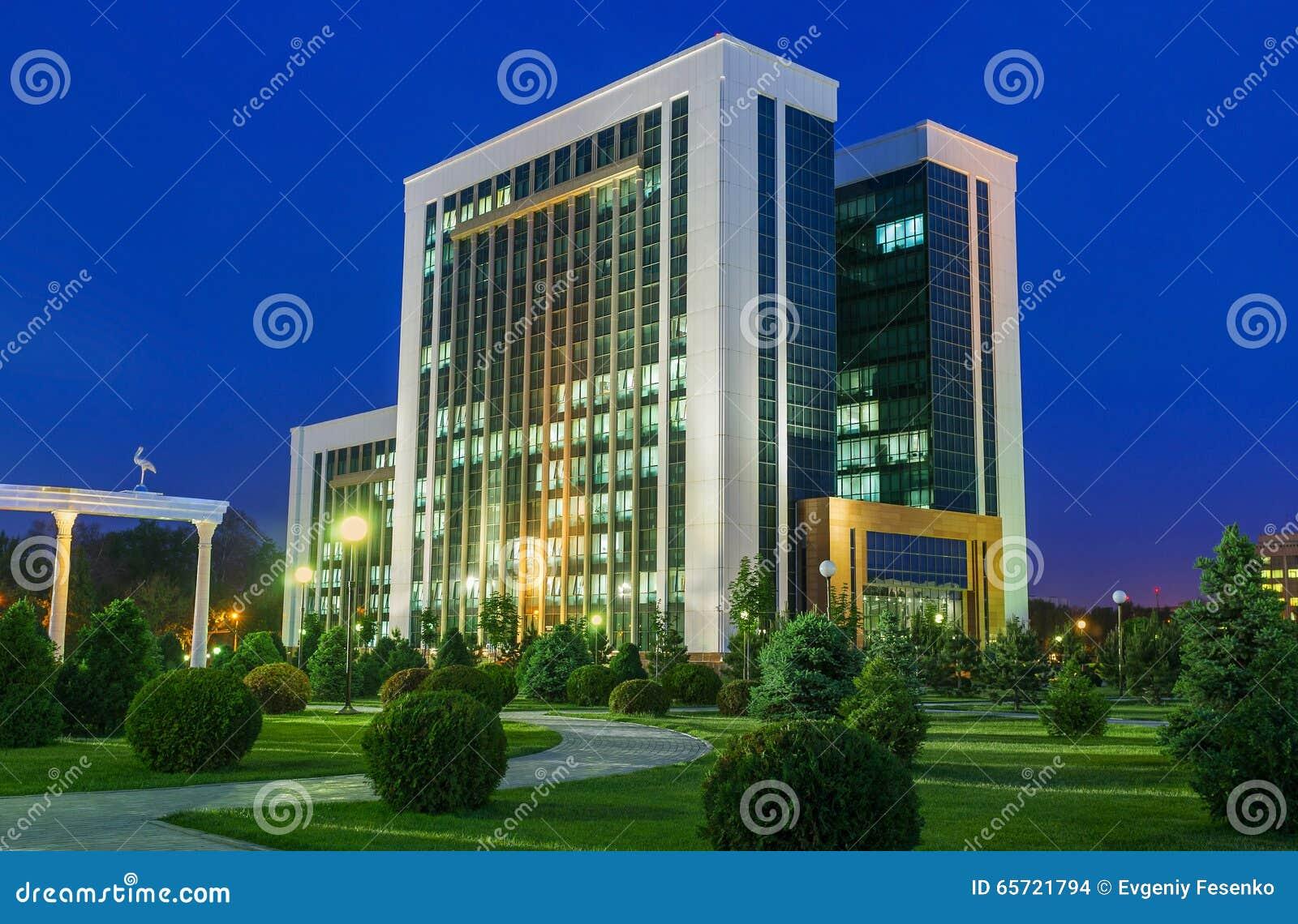 Het Ministerie van Financiën van Oezbekistan