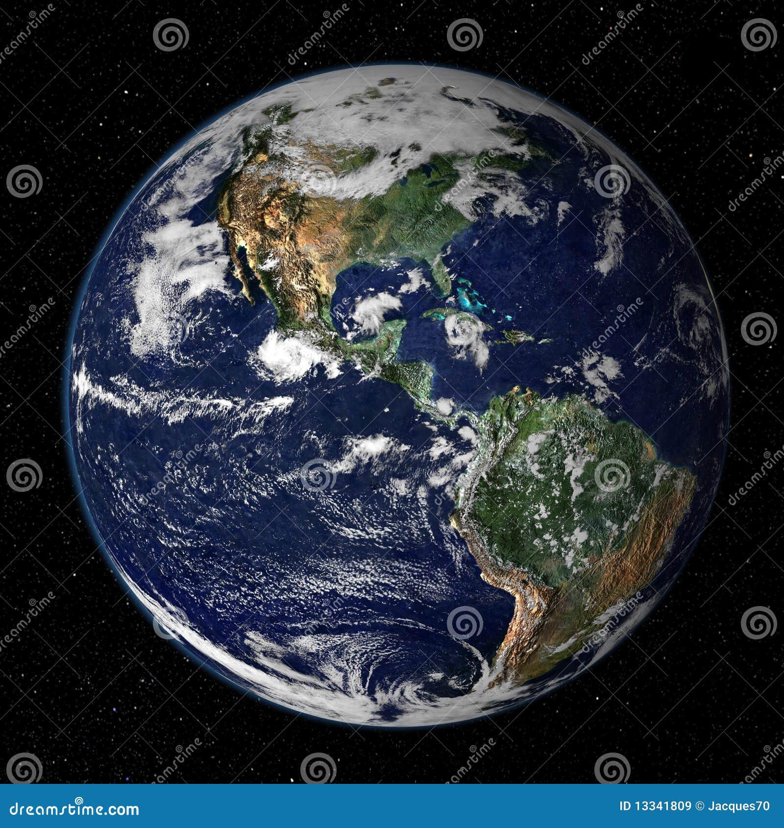 Het Model van de aarde - de Mening van de V.S.