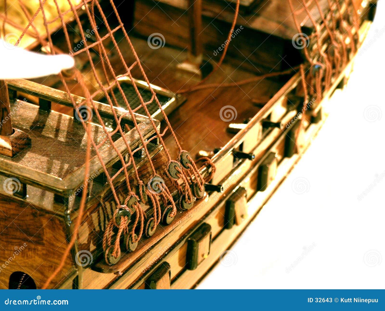 Het model van het schip