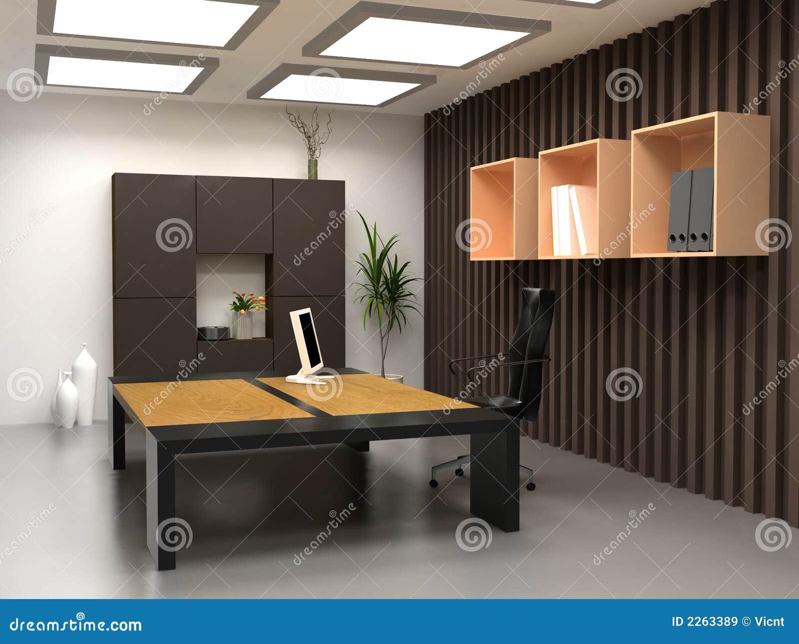 het moderne bureau royalty vrije stock afbeeldingen beeld 2263389. Black Bedroom Furniture Sets. Home Design Ideas
